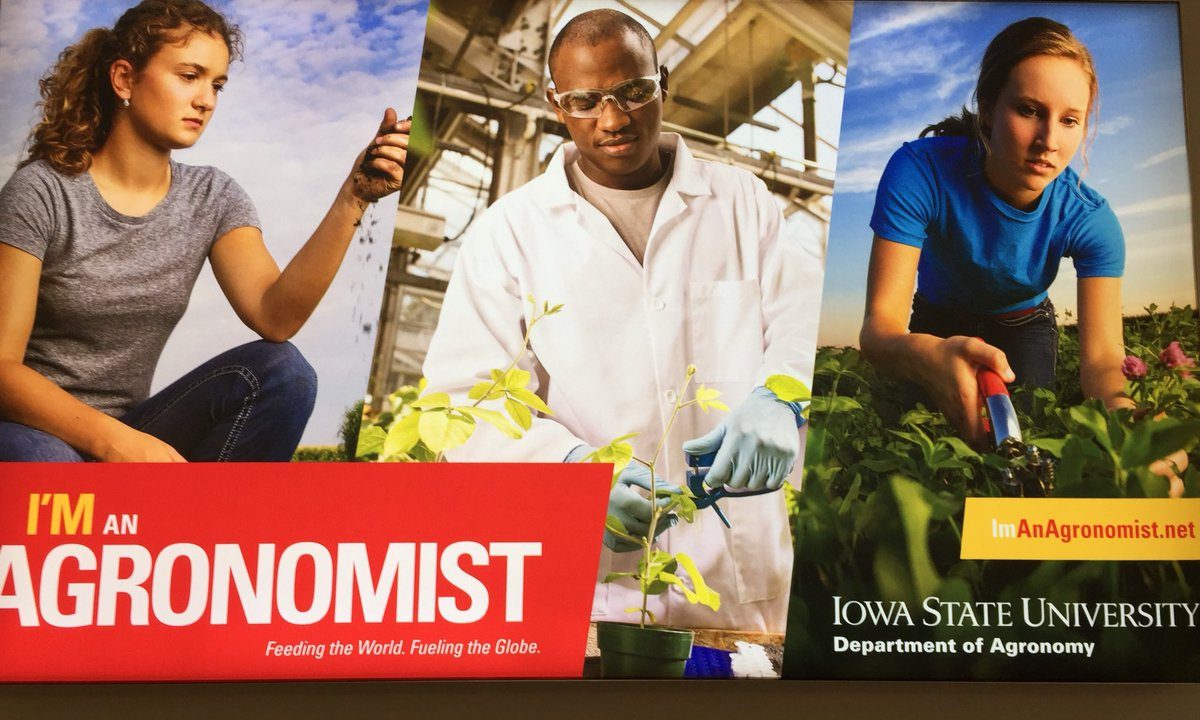 Good to see this at Des Moines airport by @IowaStateU. We need more of such ads to promote #ag #cropscience #agronomy <br>http://pic.twitter.com/l71g08XCtk