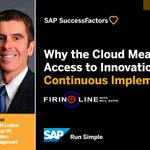 Why are companies migrating to #HRtech in the cloud? @dHRludlow and @BillKutik explain on Firing Line: https://t.co/EZGi5T9xiI