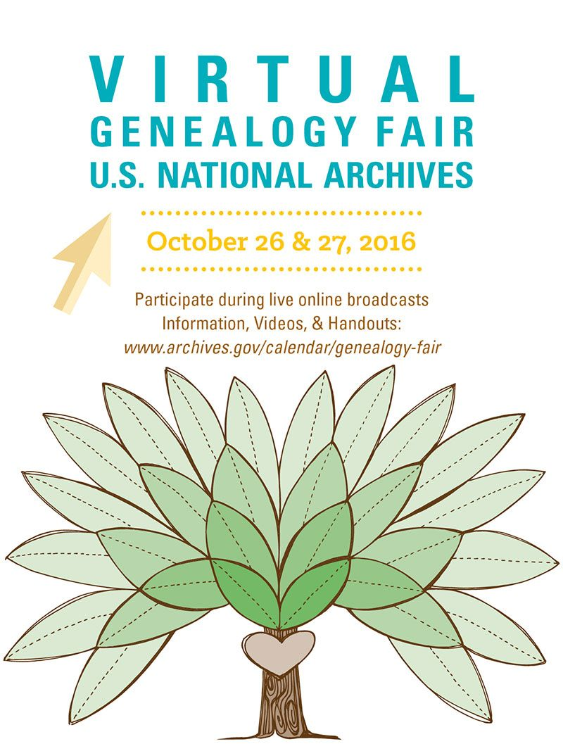 Coming to a computer near you on 10/25: National Archives Virtual #Genealogy Fair  https:// buff.ly/2xQzJhx  &nbsp;   Check out the schedule! <br>http://pic.twitter.com/0yAsCUAyUa