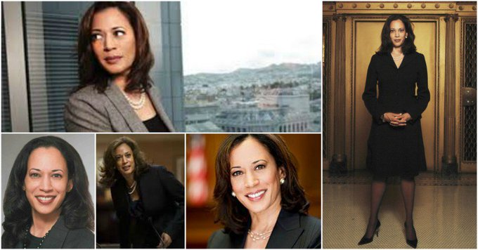 Happy Birthday to Kamala Harris (born October 20, 1964)