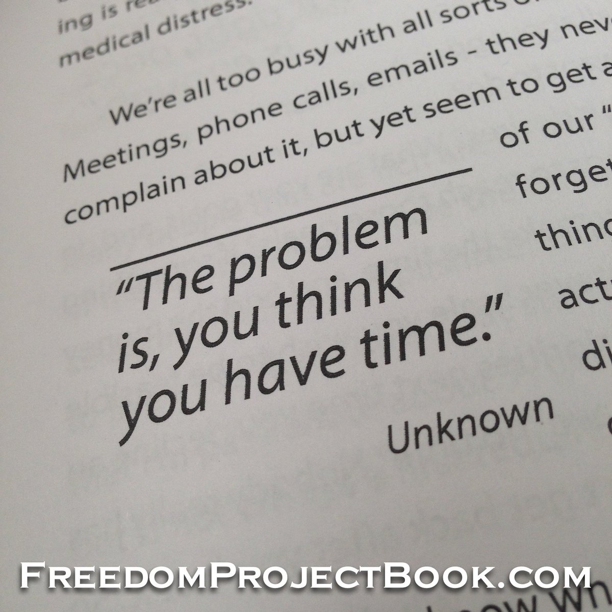 #quote from my book The Freedom Project #TFP #text <br>http://pic.twitter.com/EP1pEKmHtQ