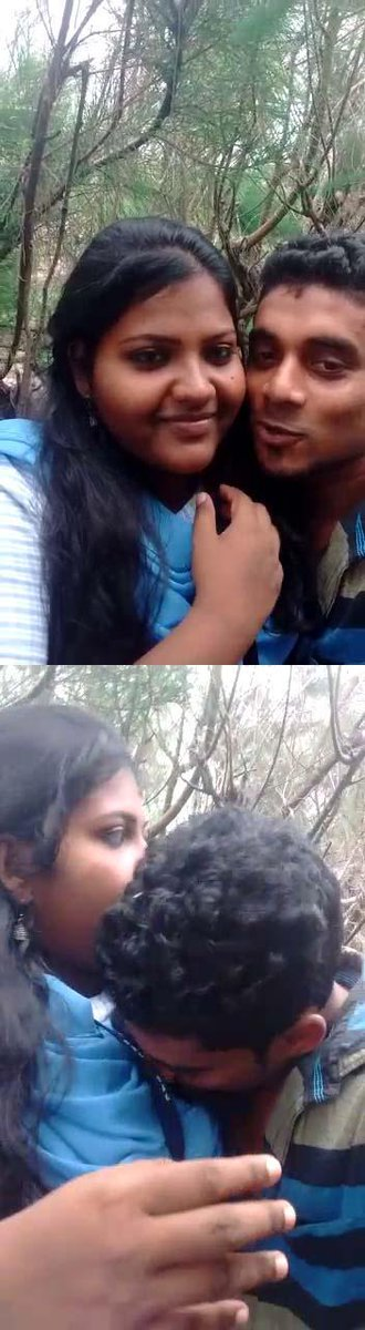 Indian couple outdoor sex