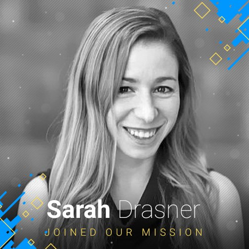 Senior #Developer Advocate at #Microsoft, @sarah_edo joined our #JSHeroes mission! We are glad to have you on board, Sarah! :)<br>http://pic.twitter.com/evRP8cztma