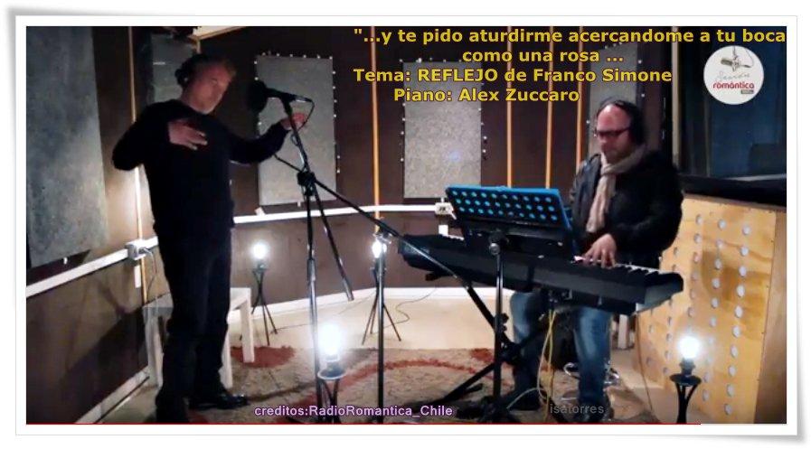 @Radio_Romantica #Chile #acusticos #SesionRomantica @FrancoSimoneFS impecable #news #Single #Reflejo su #poesia     https://www. youtube.com/watch?v=T_ZYan mxb7Q&amp;t=62s &nbsp; … <br>http://pic.twitter.com/RIOFM6ClJ9