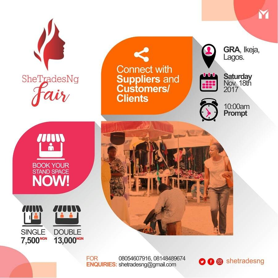 Good news for entrepreneurs - Business fair coming up in November.  Book a stall  #connect #suppliers #customers #clients #Entrepreneurship <br>http://pic.twitter.com/p4MhmK18pN