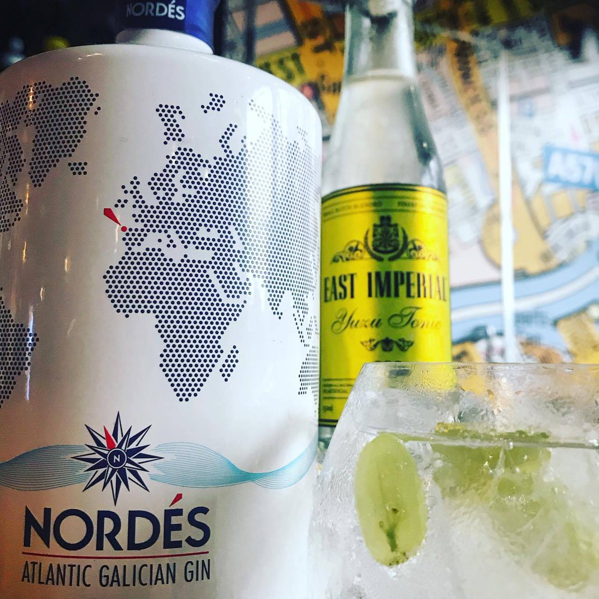 It&#39;s Friday #Manchester so it&#39;s time for a NEW Gin of the Week! This week we have @Nordesgin with @East_Imperial Yuzu tonic #FridayFeeling <br>http://pic.twitter.com/QZA4dANQpJ