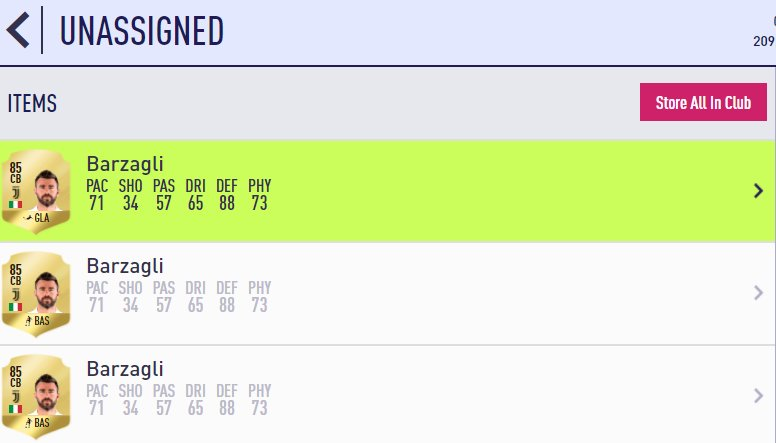 cheapest 88 rated players