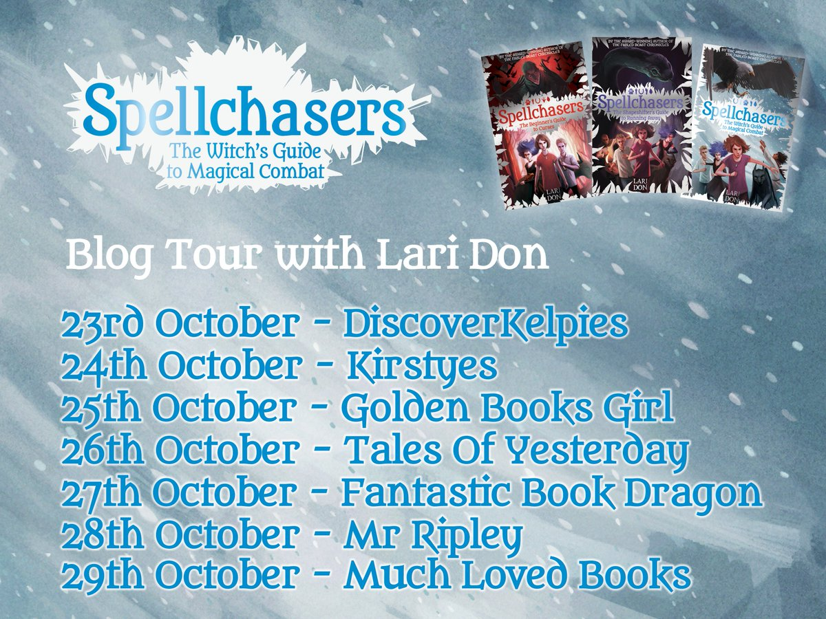 I'm off on a new adventure next week: a blog tour! Find me on all these wonderful #book #blogs!#Spellchasersontour  #amwriting #mglit #ukmg<br>http://pic.twitter.com/hdId3eoFI9