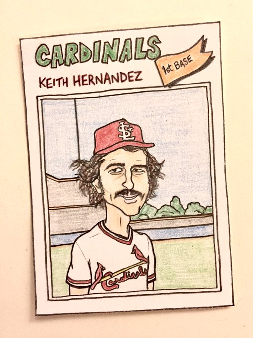 Wishing a very happy 64th birthday to 1979 NL co-MVP Keith Hernandez!