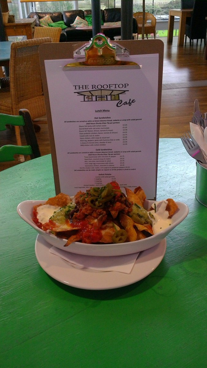 NACHOS ANYONE??? @therooftop_cafe  KITCHEN CREATION come and have #fresh food #newbusiness @Kala_Sangam we #love#local produce<br>http://pic.twitter.com/XNO2iYMVda