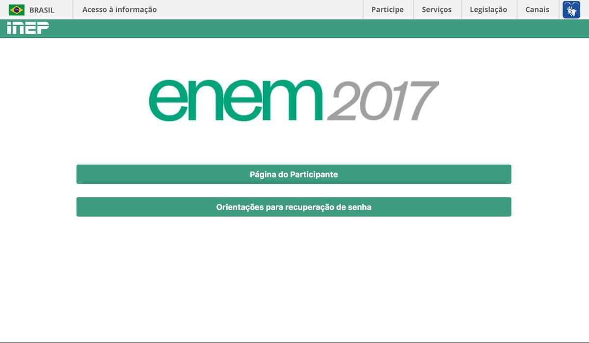 Você já pode conferir o local das provas do #Enem2017   https://t.co/I...