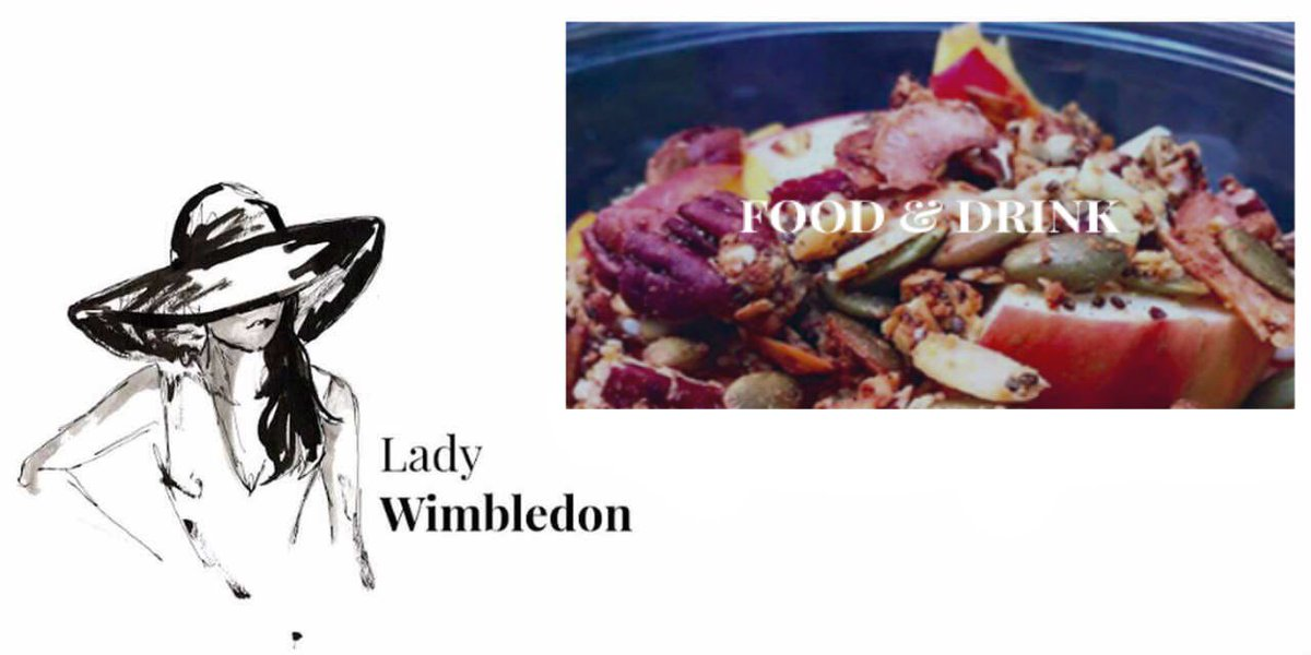 Check out @ladywimbledon #food &amp; #drinks #blog featuring @SewWhite. Head to the #bloggers section of My #Wimbledon App<br>http://pic.twitter.com/ilqfpRT472