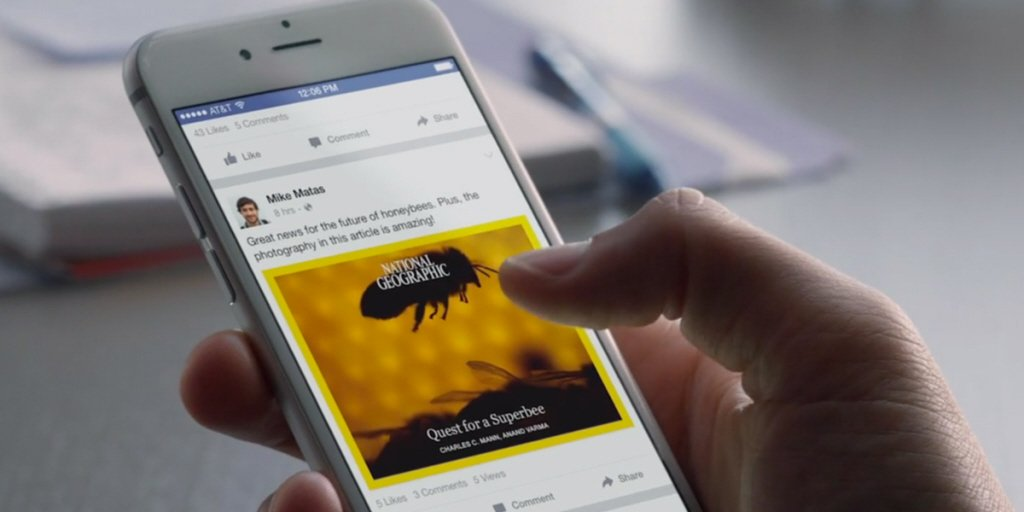 #FiveMinuteFriday - @facebook launches testing #paywall and subscriptions for #InstantArticles  http:// ow.ly/Hlvc50eIr4d  &nbsp;  <br>http://pic.twitter.com/GaCH770HtN