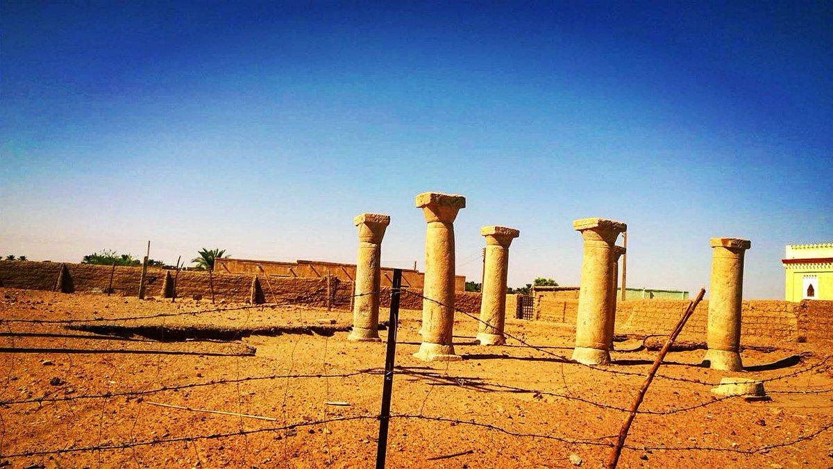 New columns of a 10th Century Church of the Christian Kingdom of Makuria discovered in Kanati #italtoursudan #northsudan #UNESCO <br>http://pic.twitter.com/7a5H0KbAC6