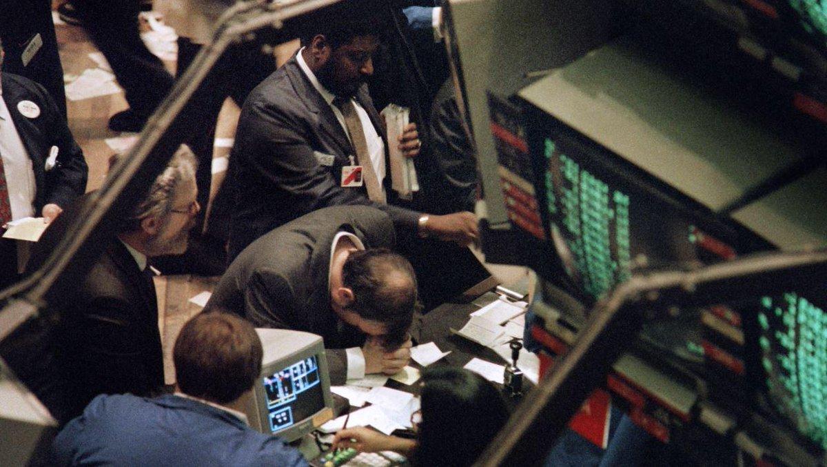 VIDEO - Le krach de 1987 ou l'impuissance de l'homme face à la machine https://t.co/UJdAzEcbmZ