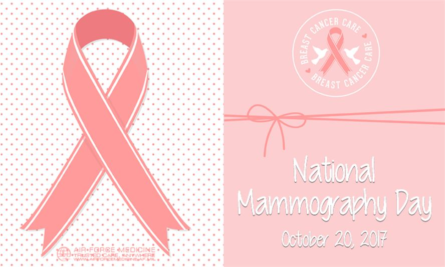 Today is National #MammographyDay! Remember to schedule your mammograms regularly. #WomensHealth <br>http://pic.twitter.com/JIMwuJkmSJ