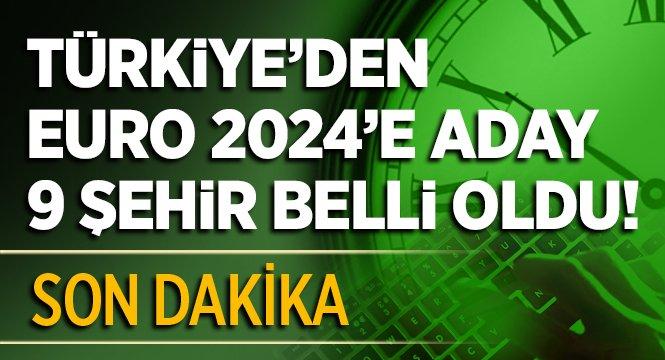 Türkiye'den EURO 2024'e aday 9 şehir belli oldu https://t.co/MZsiHmf1v...