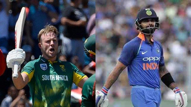 ICC ODI rankings: AB de Villiers pips Team India's Virat Kohli to become No 1 batsman  Read: https://t.co/s3t0XZX1Of