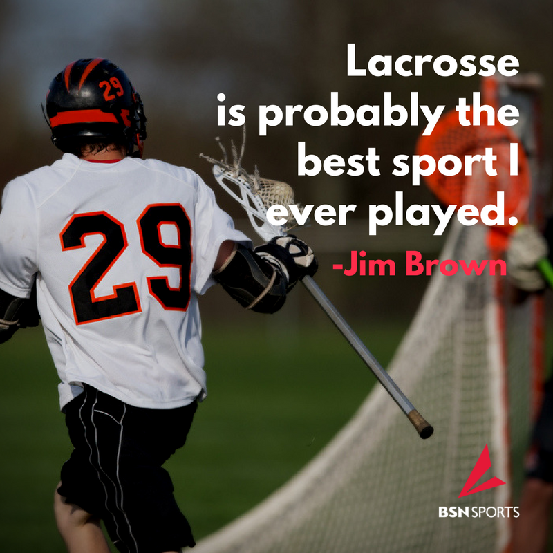 Jim Brown Lacrosse >> Bsn Sports V Twitter Lacrosse Is Probably The Best Sport I