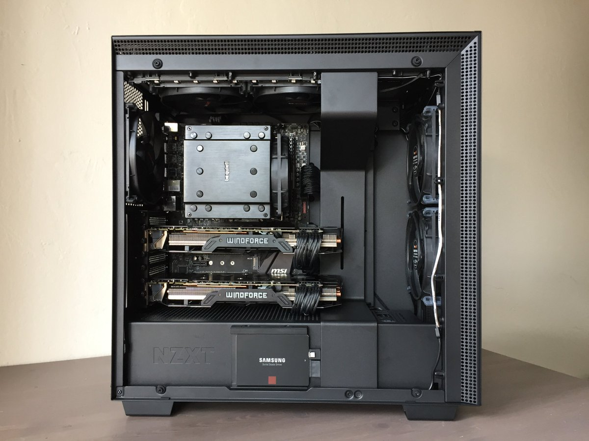 Murdered-out H700i    Check out more on Syntax_PC #Instagram:  http:// nzxt.co/2znvJS3  &nbsp;  <br>http://pic.twitter.com/NPwkGXxZdI