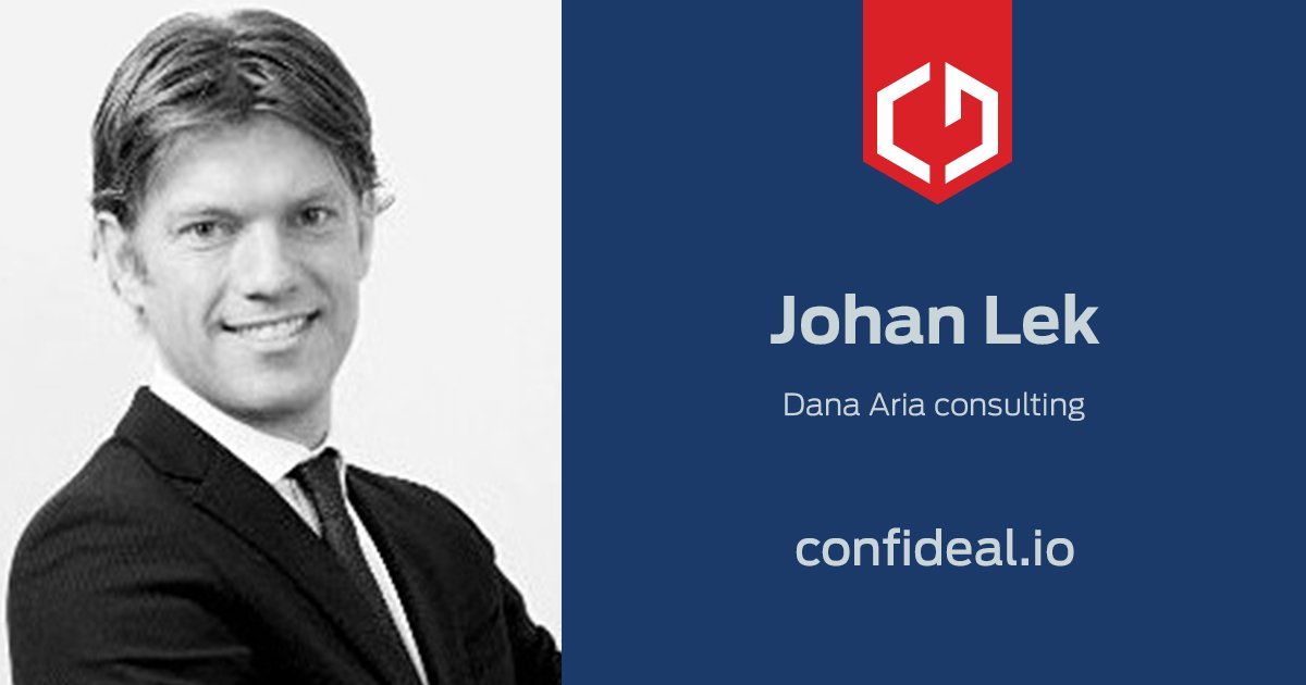 1/2 Here&#39;s our #advisor Johan Lek, a true colossus of consulting. Johan has worked in finance, investment banking, brokerage and biz dev. <br>http://pic.twitter.com/fuJMuKWekg