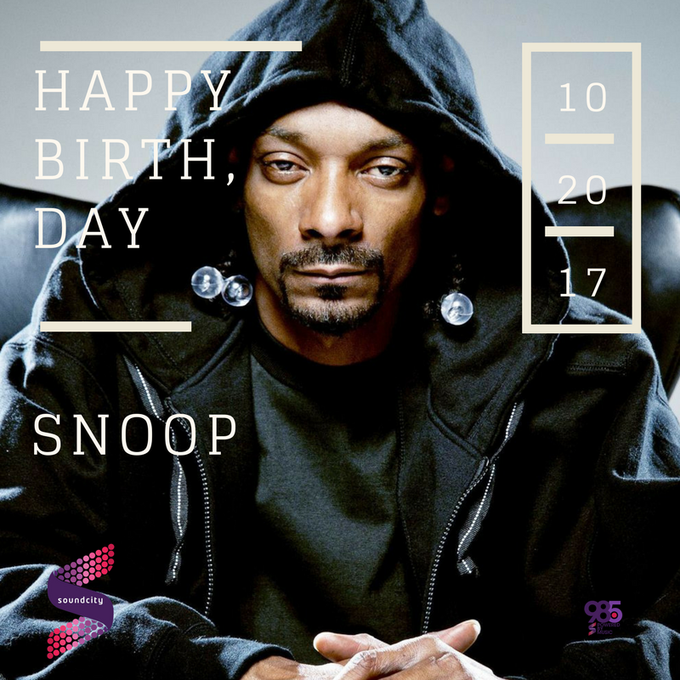 Happy 46th birthday to Snoop Dogg | Love from