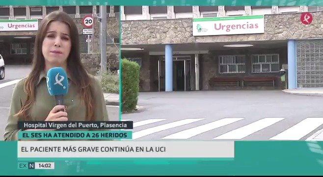 El accidente de Galisteo deja aún un paciente en la UCI, aunque el resto de heridos empieza a mejorar. Estas son las novedades del día. #EXN https://t.co/ysF5ptLYQH