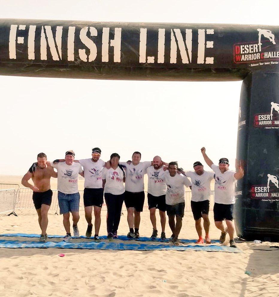 Dubai Desert Warrior Challenge Done!  #JollyRogers #Dubai30x30 #10km #DWC #UltimateWarrior @DXBFitChallenge<br>http://pic.twitter.com/caDYdfXYBv