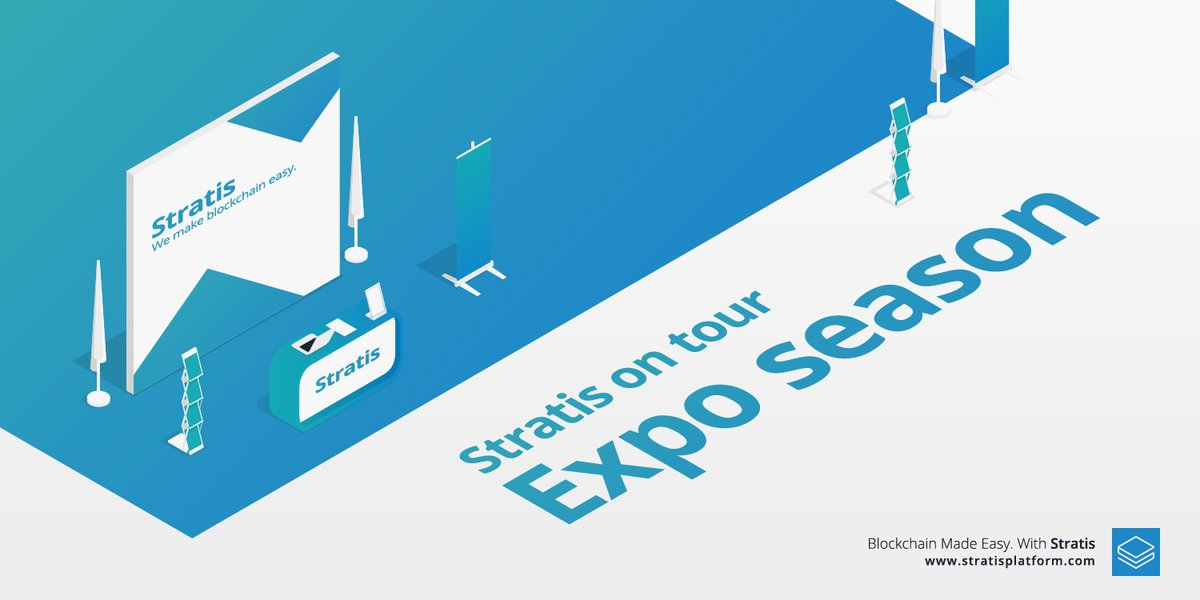 Our upcoming conferences the #stratis team will be attending:  https:// stratisplatform.com/2017/10/20/blo ckchain-expo/ &nbsp; …  #blockchain #bitcoin #conferences $STRAT<br>http://pic.twitter.com/HZOt3xz4zq
