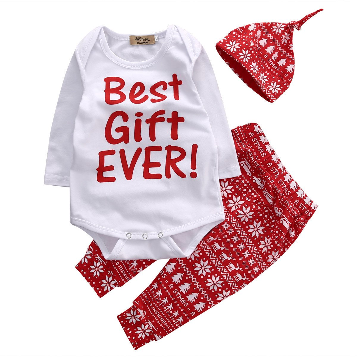 Best Gift Christmas Three Piece Set #Baby #Style #Fashion #MommyandMe #Boutique #Shopping #Mommy  ➤  https:// goo.gl/z1Cyps  &nbsp;   via @outfy<br>http://pic.twitter.com/UxvlPj14EE
