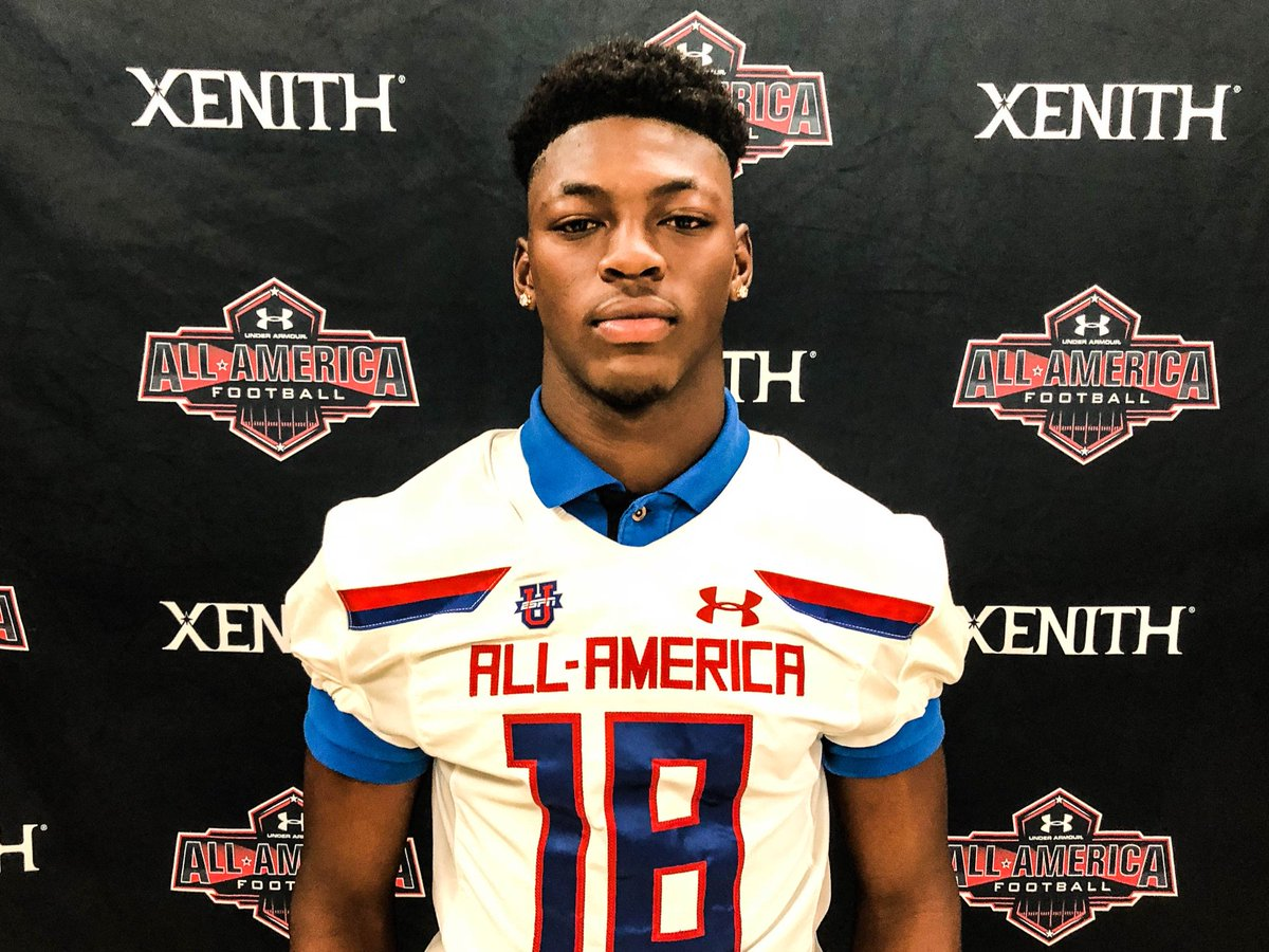Miami Top247 safety commit Gurvan Hall 'blessed' to be a part of the @AllAmericaGame.
