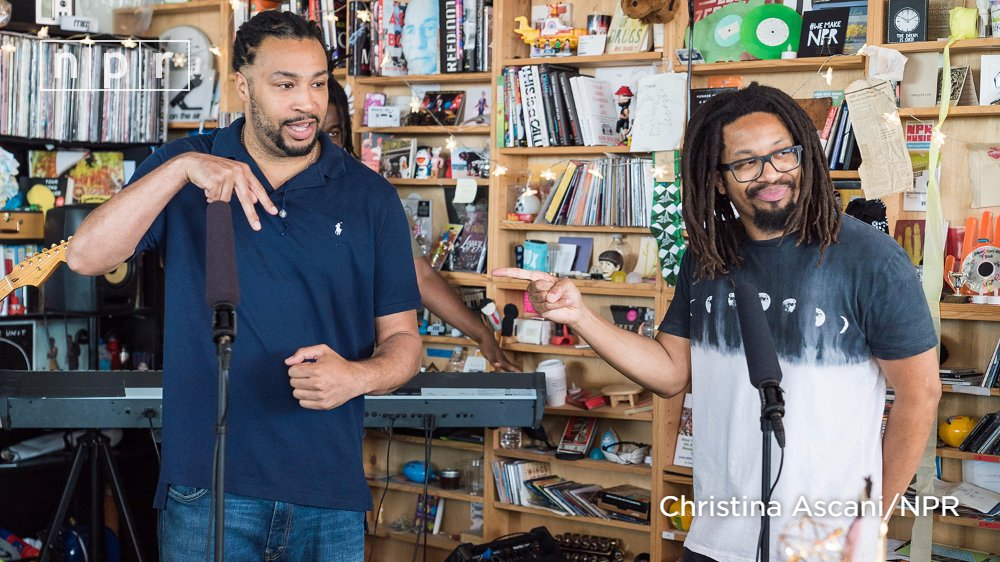 Boston's Mr. Lif & Akrobatik first teamed up as The Perceptionists in the early 2000s. Watch the duo's . #TinyDeskhttps://t.co/ytHzh1FMsV