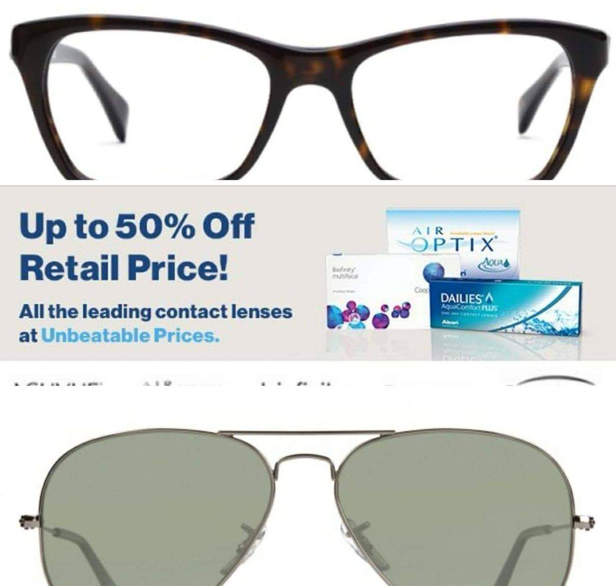 GlassesUSA Biggest BOGO Sale + Get $25 Off Every $65 You Spend with #Code + #FREE Shipping incl basic lens!...  http:// fb.me/6ITR7BKQf  &nbsp;  <br>http://pic.twitter.com/x1maWq7Ygo