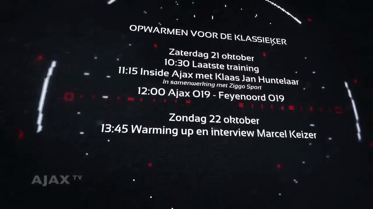 Mis niets in aanloop naar Feyenoord - #A...