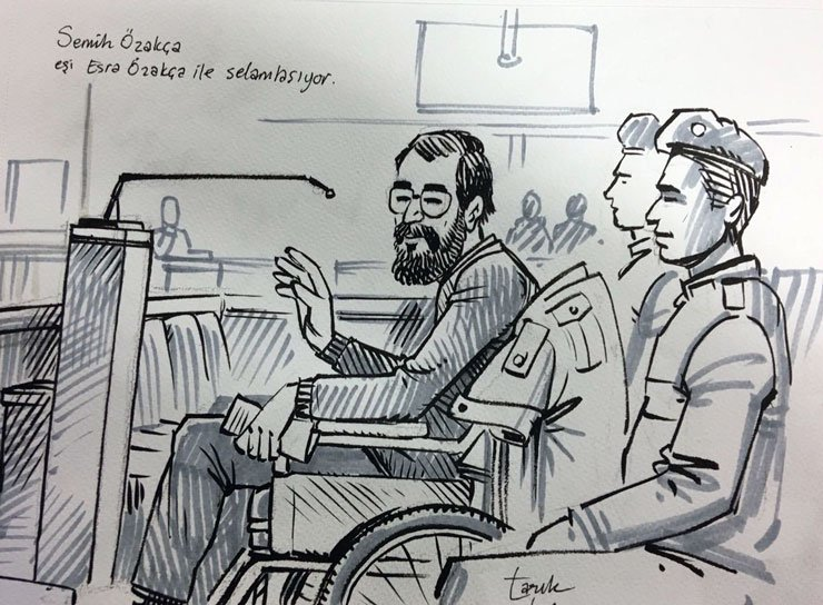 SON DAKİKA Semih Özakça'ya tahliye kararı, Gülmen'in tutukluluğuna dev...