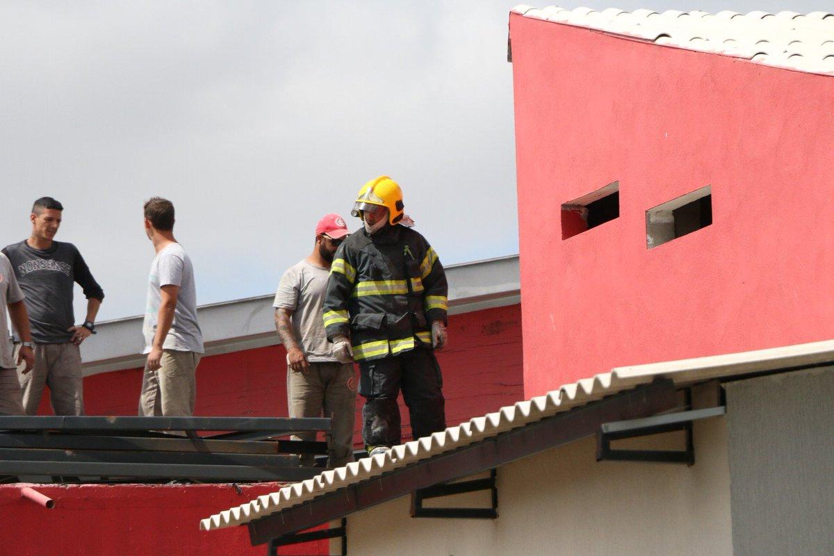 Inter aciona Bombeiros após princípio de incêndio no CT do Parque Gigante => https://t.co/k6C2ucUAGj