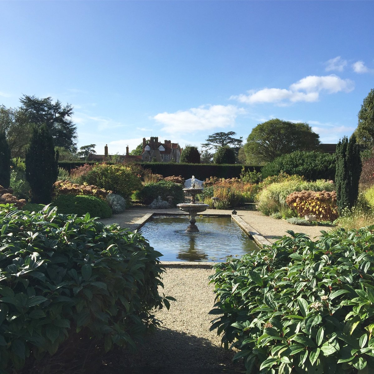 Glorious view in the #walled #garden today