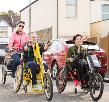 Why cycling&#39;s great for almost everyone, whatever your #disability or #age.   http:// bit.ly/RicanewsOct2017  &nbsp;   Your invitation to @WfWnews conference<br>http://pic.twitter.com/9SZT3550CR