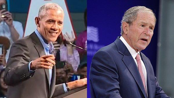 Bush denounces bigotry; Obama tells Democrats to reject politics of division, fear: https://t.co/UQ9mxSYXlL