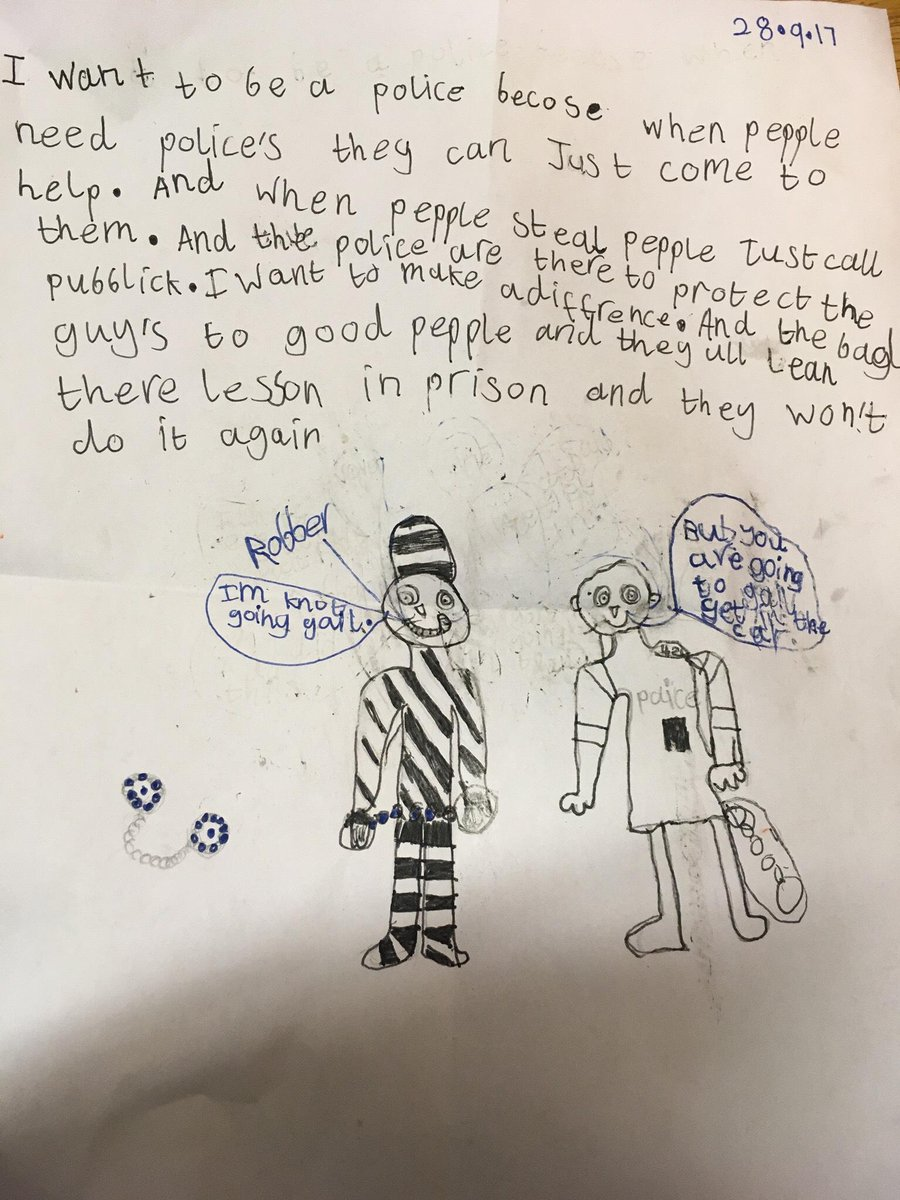A lovely letter received by PCSO COCHRAN from a young resident. #Buildingtrust #confidence #engagement #thankyou<br>http://pic.twitter.com/NHS9N5g91A