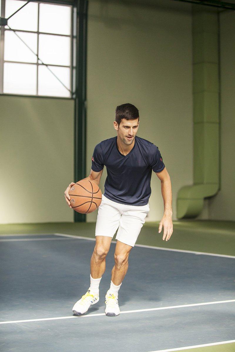 Djoko playing time #Djokovic #NovakDjokovic #basketball #tennis #TB #lastyear #Belgrade #funtimes #GoodVibes<br>http://pic.twitter.com/H7sOG8EVrd