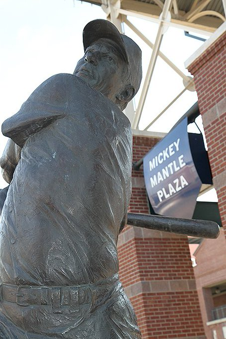 Happy birthday to Oklahoma native Mickey Mantle!