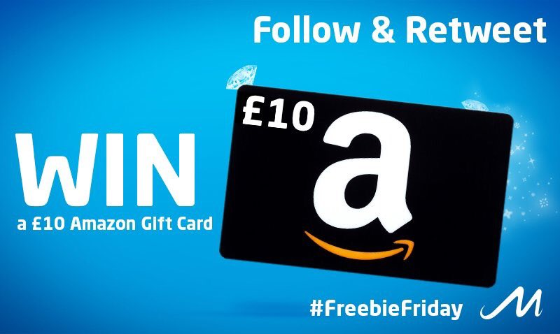 Get that #FridayFeeling and #WIN an #Amazon voucher this #FreebieFriday - RT &amp; Follow to enter! #Friyay   <br>http://pic.twitter.com/USVqk036N6