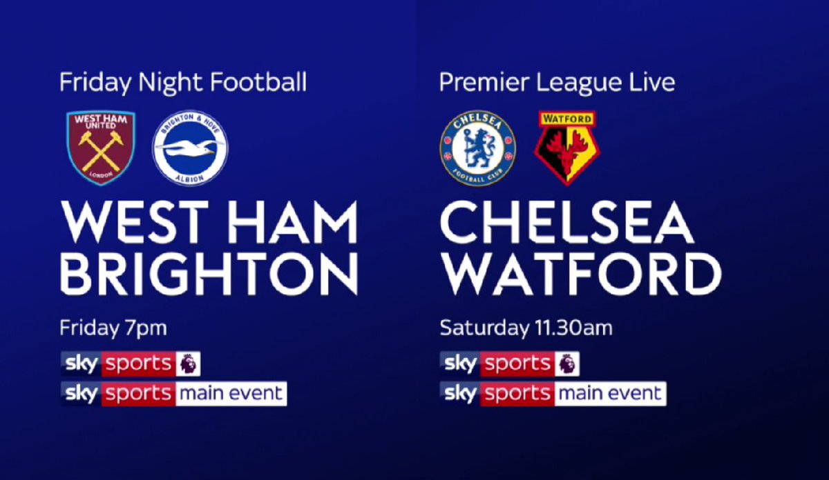 Can @ChelseaFC end a tricky week on a positive note? Jamie Redknapp and Alan Pardew will be at Stamford Bridge: https://t.co/ZsNXfhExll