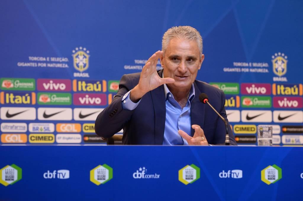 """""""Campeonato Brasileiro não teve influência"""", afirma Tite após convocação: https://t.co/3ePh7OLCuo"""