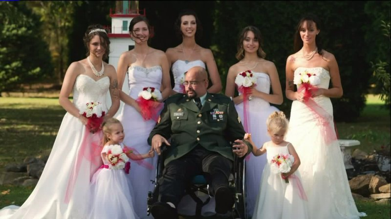 Father's Dying Wish To Walk Daughters Down The Aisle Comes True https://t.co/QuVkyX1WT4