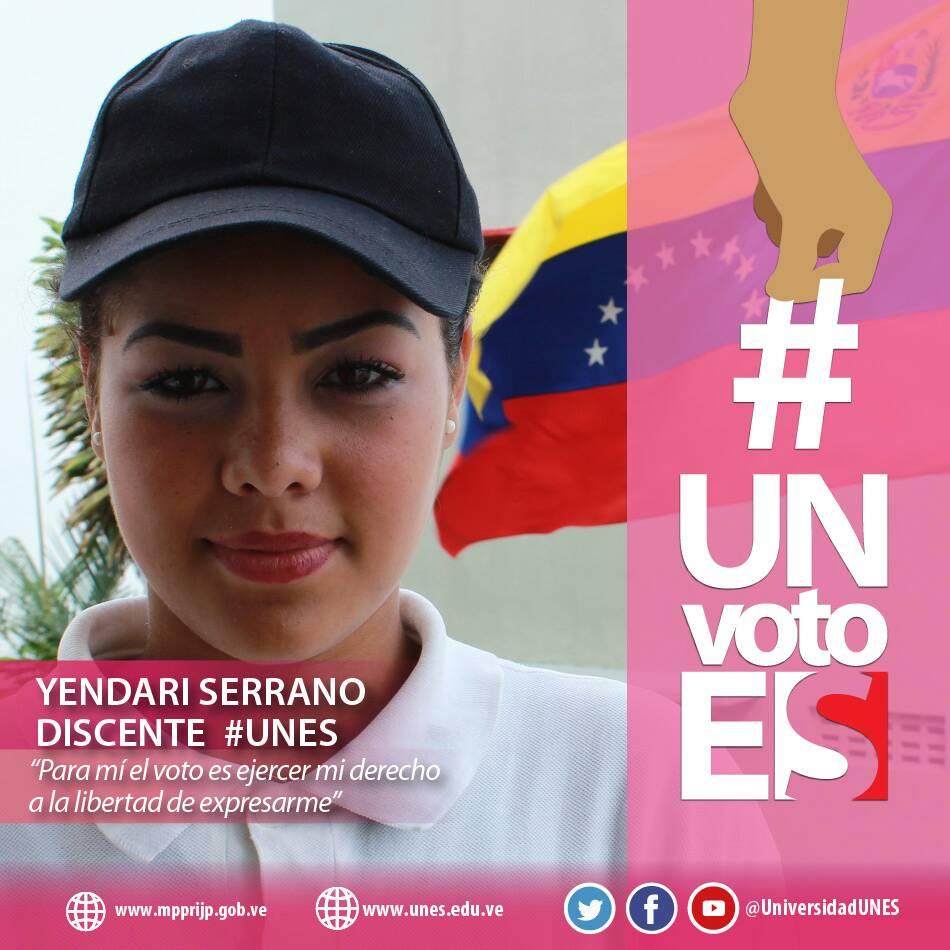 @UniversidadUNES #Barinas garante de la paz activa para este #FelizDom...