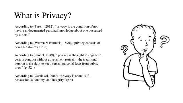 What is #privacy ?  #fintech #Blockchain #Databreach #infosec #defstar5 #makeyourownlane #Mpgvip #AI #ML #bitcoin #HybridIT #HybridCloud<br>http://pic.twitter.com/SaQx3g4KHv