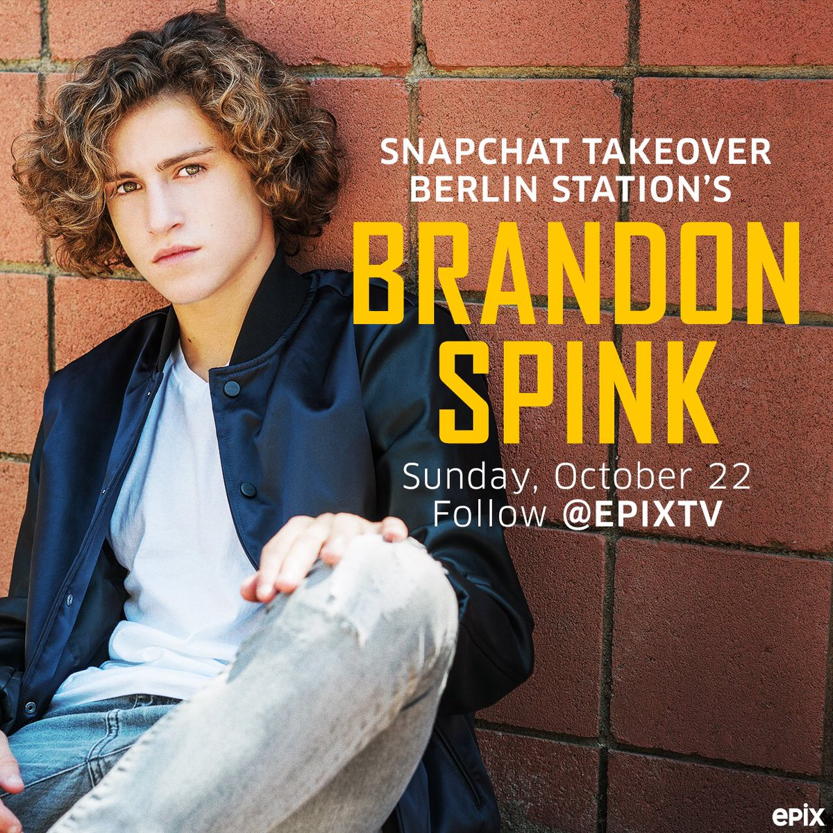 Follow me on @EpixHD #snapchat @ EPIXTV, I am going to take you through my day before Sunday's new episode of @BerlinStation #season2 <br>http://pic.twitter.com/oNfoy1i1xP