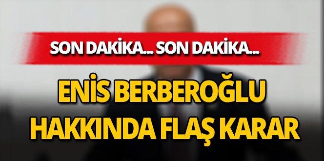 #SONDAKİKA Enis Berberoğlu'nun davasında flaş gelişme >>> htt...